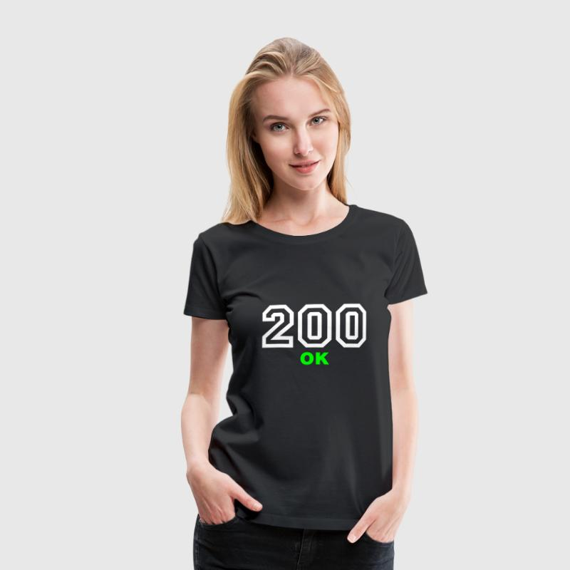 Error 200 | Fehler | Errormessage - Women's Premium T-Shirt