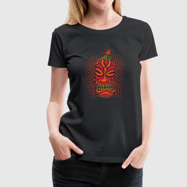 SPRAY A TIKI pt.2 (c3neg) - by toneyshirts.de - Women's Premium T-Shirt