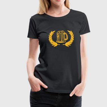 beer sign - Vrouwen Premium T-shirt