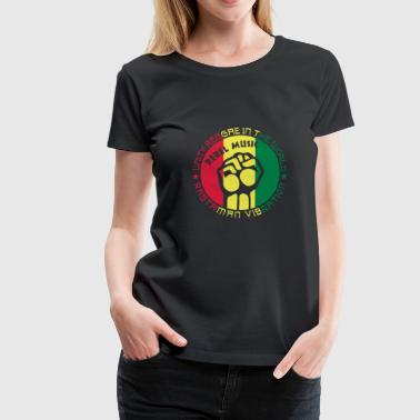 unity reggae in the world - Frauen Premium T-Shirt