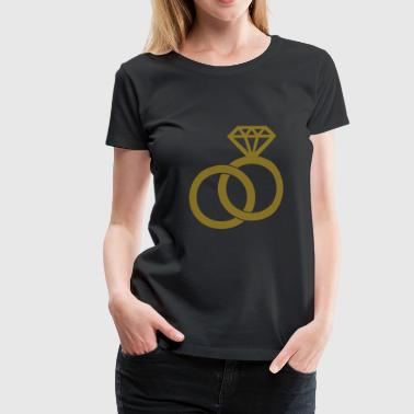 Alliance - Wedding - Dame premium T-shirt