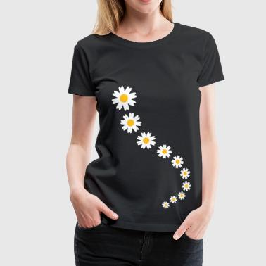 flowers - Frauen Premium T-Shirt