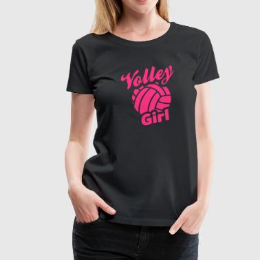 volley girl - Women's Premium T-Shirt