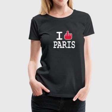 i fuck paris by wam - Vrouwen Premium T-shirt