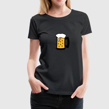 Beer Glas - Women's Premium T-Shirt