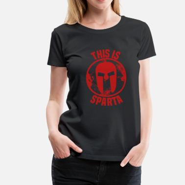 Spartanen this is sparta - Vrouwen Premium T-shirt