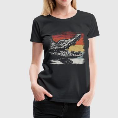 crocodile - Women's Premium T-Shirt
