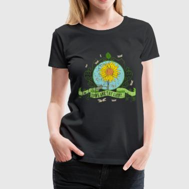 sunflower_some_are_the_light_022016_a - Frauen Premium T-Shirt