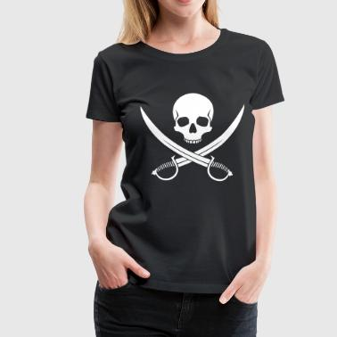 Pirates Graphiques skull pirate - T-shirt Premium Femme