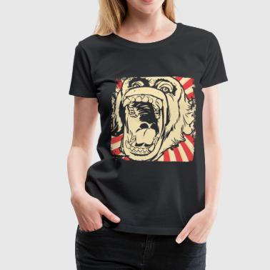 Monkey face monkey - Women's Premium T-Shirt