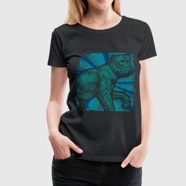 Monkey primate - Women's Premium T-Shirt