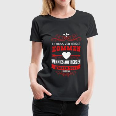Marketing - Frauen Premium T-Shirt