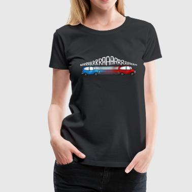 Doppler effect - Frauen Premium T-Shirt