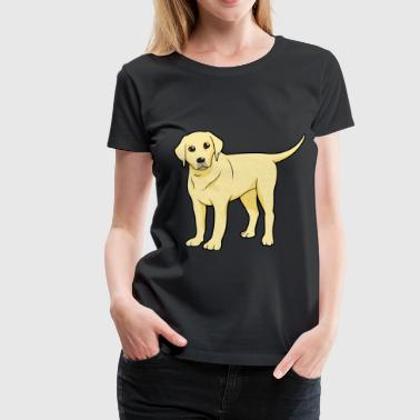 Golden Labrador - Women's Premium T-Shirt