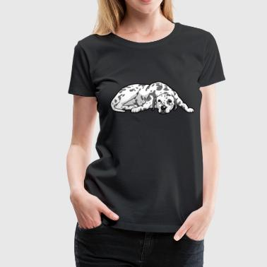 Dalmatian Dog - Women's Premium T-Shirt