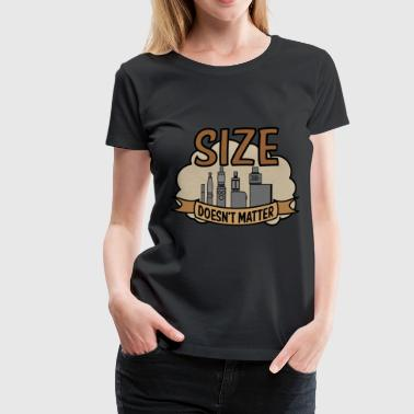 Vapor Size doesn't matter - Women's Premium T-Shirt