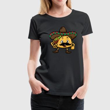 Taco Mexican food spicy kitchen gift - Women's Premium T-Shirt