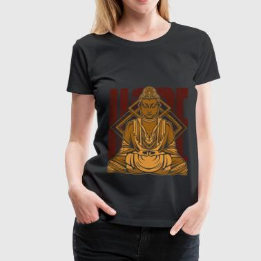 Chakra Buddhism Meditation Buddhism Meditation Buddha Buddhist - Women's Premium T-Shirt