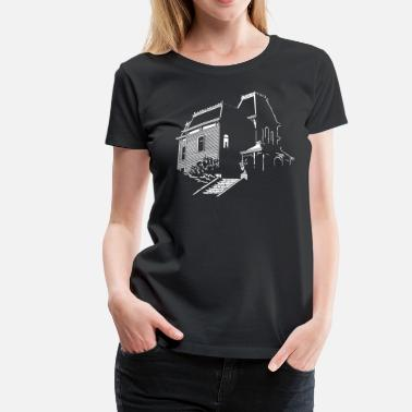 Hitchcock Home Sweet Home - Women's Premium T-Shirt