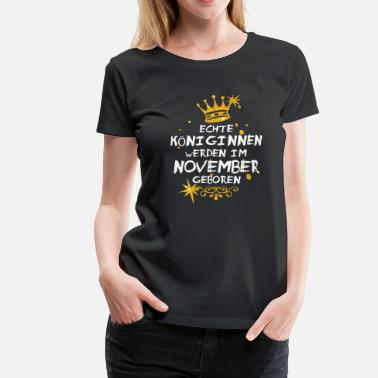 November November - Frauen Premium T-Shirt