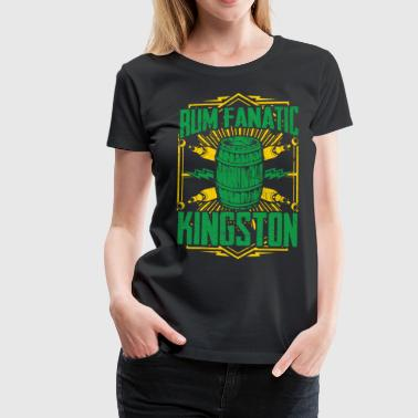 T-shirt Rum Fanatic - Kingston, Jamaica - Vrouwen Premium T-shirt