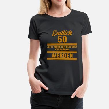 Age 50 50 fifty - Women's Premium T-Shirt