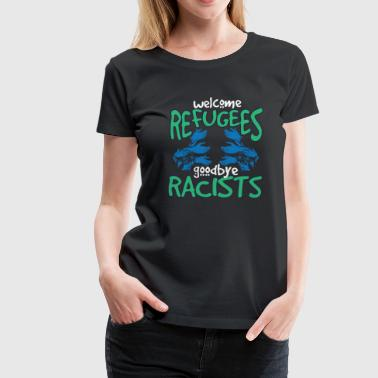 Welcome Refugees - Women's Premium T-Shirt