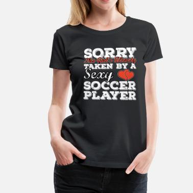 Soccer Player Soccer Player - Frauen Premium T-Shirt
