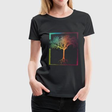 Mother Nature - Frame 06 - Women's Premium T-Shirt