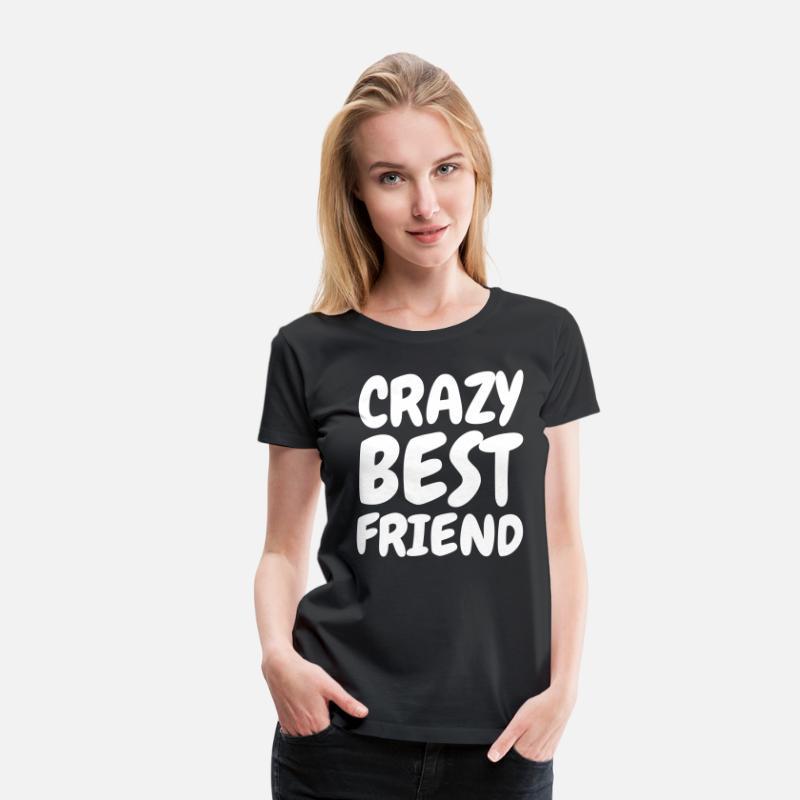 beste freunde geschenke frauen premium t shirt spreadshirt. Black Bedroom Furniture Sets. Home Design Ideas
