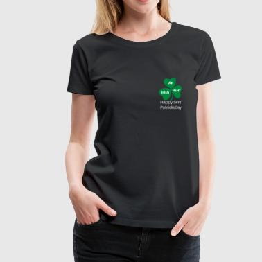an irish heart , saint patricks day - Women's Premium T-Shirt