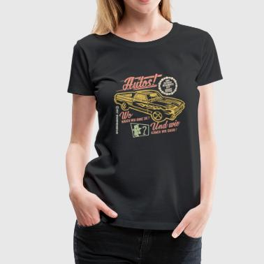 Autos - Frauen Premium T-Shirt
