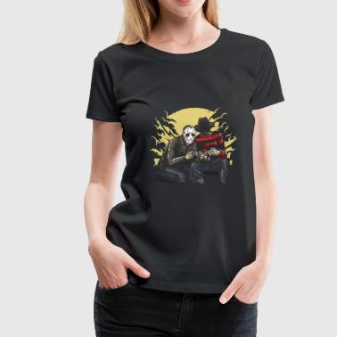 Dark Gamers Jason und Freddy - Frauen Premium T-Shirt