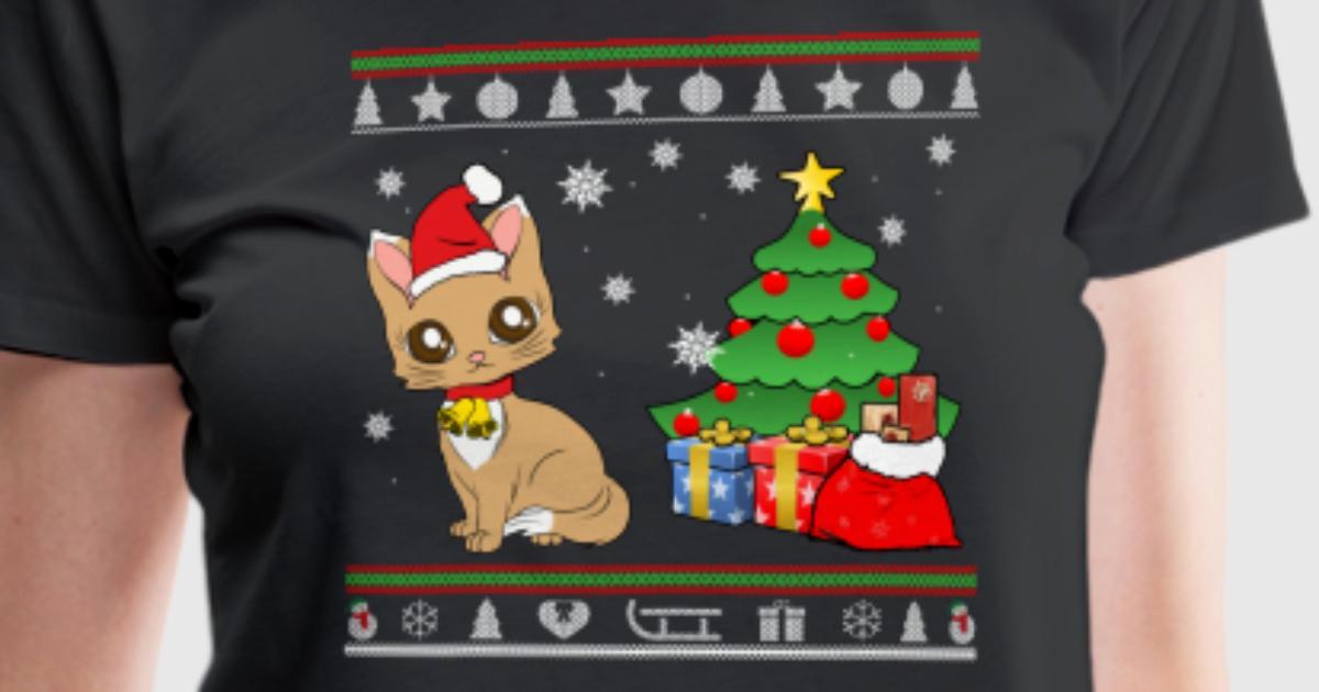 Frohe Weihnachten - Kätzchen & Geschenke von shirazon | Spreadshirt