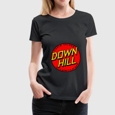 Longboard Downhill World Record Shirt - Women's Premium T-Shirt