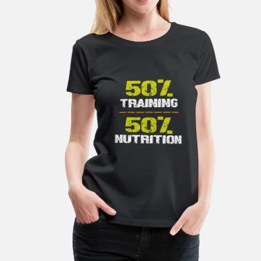 Gym motivation sports fitness - Women's Premium T-Shirt