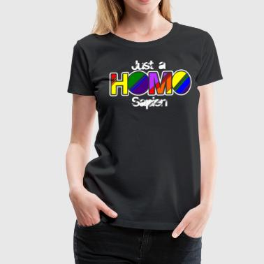 Gay Pride Parade LGBT Lesbianas Gay Bi Trans Queer Pan Dark - Camiseta premium mujer