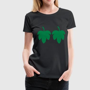 Fig Leaf - Women's Premium T-Shirt