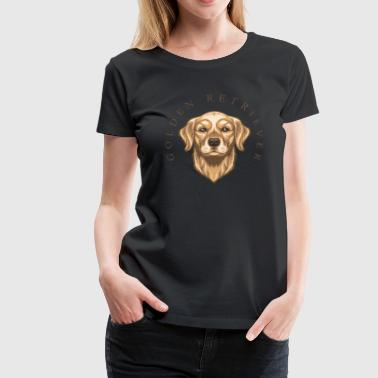 Golden Retriever - Frauen Premium T-Shirt