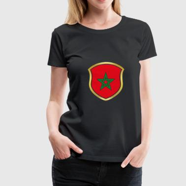 World Cup Kampioen 2018 wm team Marokko png - Vrouwen Premium T-shirt