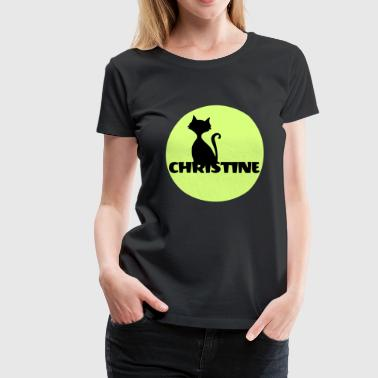 Christine Name Vorname - Frauen Premium T-Shirt
