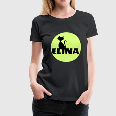 Elina Name First name - Women's Premium T-Shirt