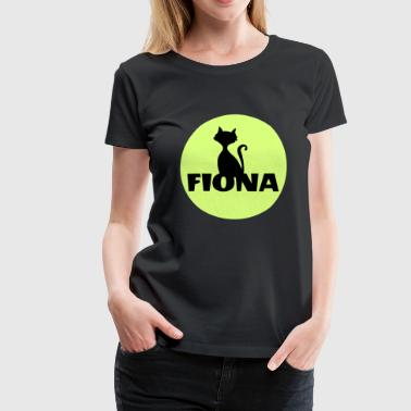 Fiona Surname First name - Women's Premium T-Shirt