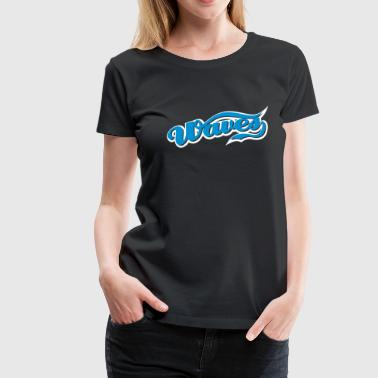 waves - Frauen Premium T-Shirt