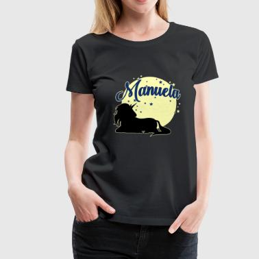 Manuela name first name women girl - Women's Premium T-Shirt