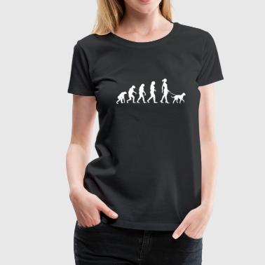 Evolution Big Dog - Frauen Premium T-Shirt