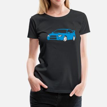 Sports Car Sports Car - Vrouwen Premium T-shirt