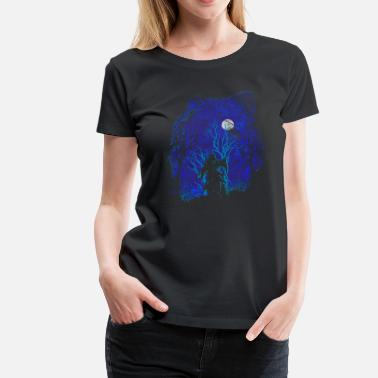 Woods Scary Woods (Ghost) - Frauen Premium T-Shirt