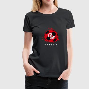 Tunisia Football World Cup - Women's Premium T-Shirt