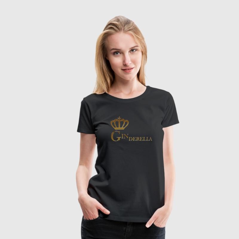 Ginderella Gin and Tonic Princess - Frauen Premium T-Shirt